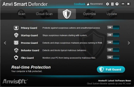 Anvi Smart Defender real time