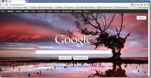 Bing Background Google