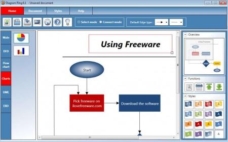 Diagram Ring charts software