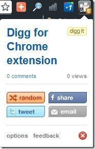Digg For Chrome