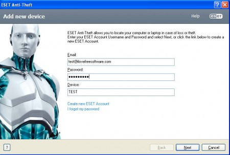 ESET Anti Theft