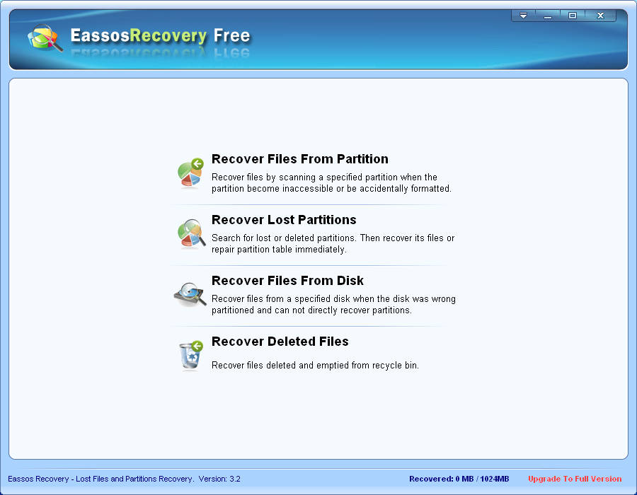 EassosRecovery default