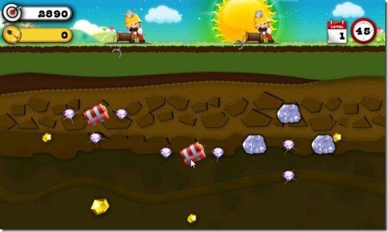 Gold Miner Game
