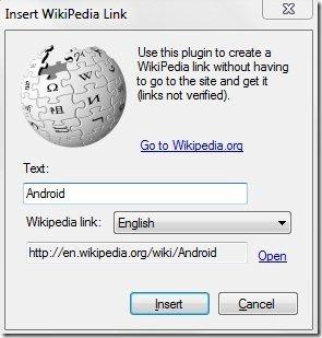 Insert Wikipedia Link
