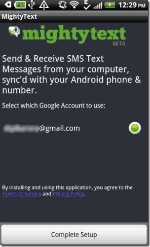 Mighty Text App