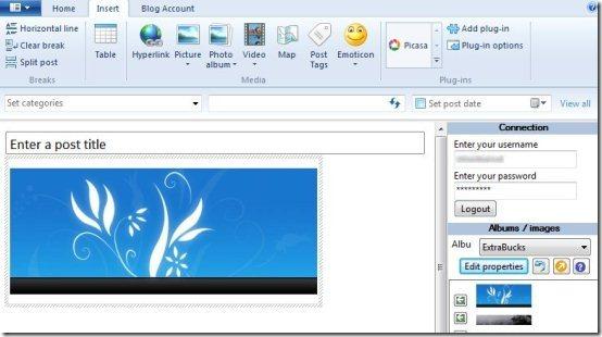 Picasa Image Plugin