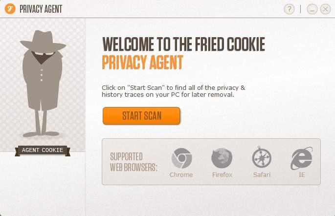 Privacy Agent default window