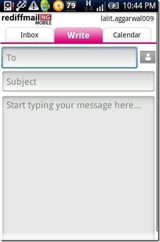 Rediffmail NG App