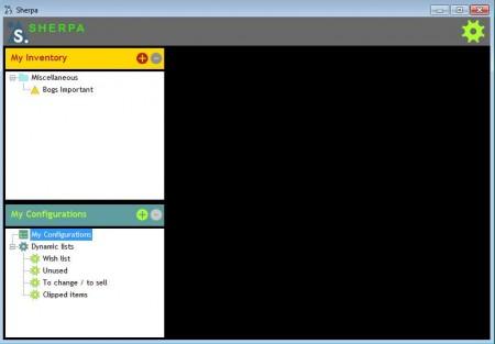 Sherpa default window
