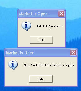 TradeClock open markets