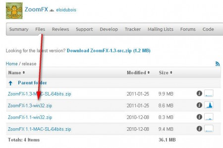 ZoomFX what to download