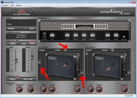 ampLion mic adjustments