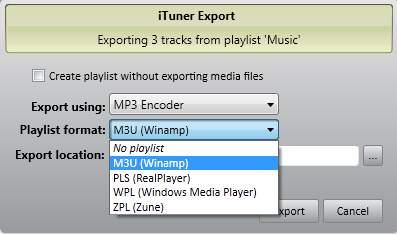 iTuner playlist