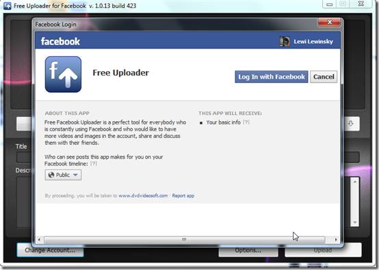 uploader for facebook Facebook Uploader1