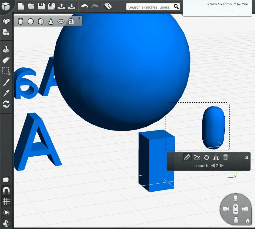 Free Online 3D Modeling Application: 3DTin