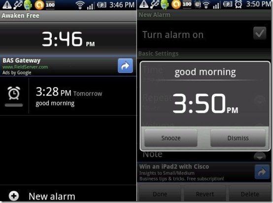Alarm-Awaken App