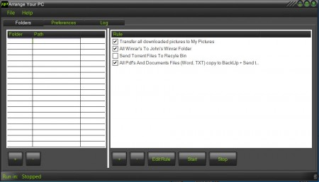 Arrange Your PC default window