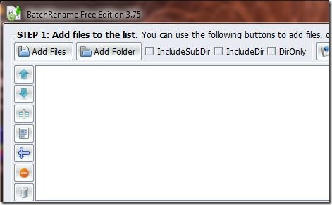 BatchRename Add Files