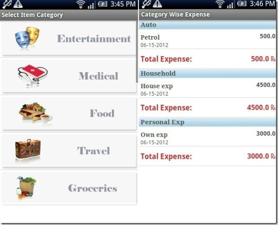 Daily Expense