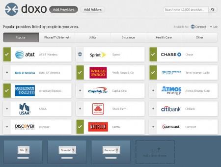 Doxo default window