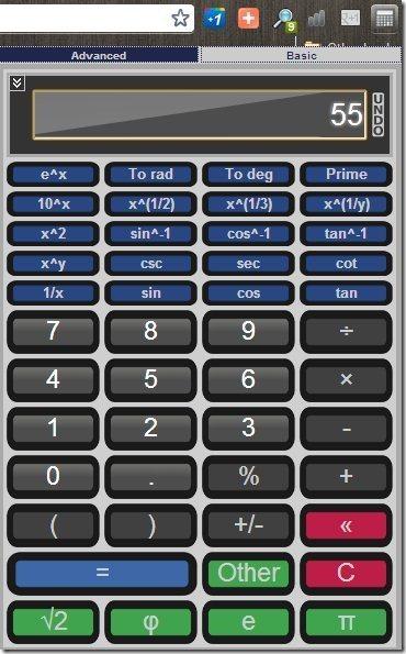 Elegant Calculator