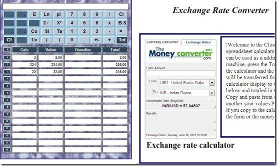 Exchange Rates Extension