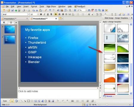 Kingsoft Office presentation template