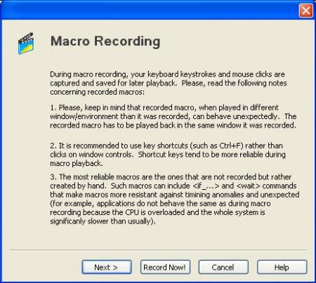 Macro Toolworks advice