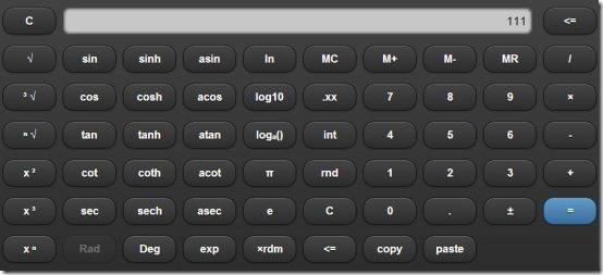 Melanto Calculators