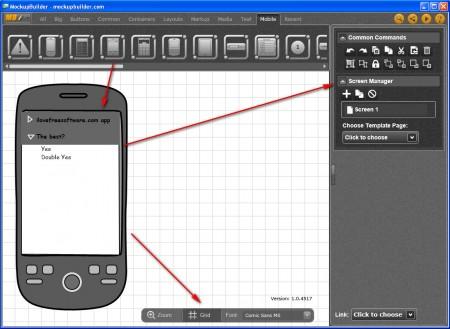 Mockup Builder Android app