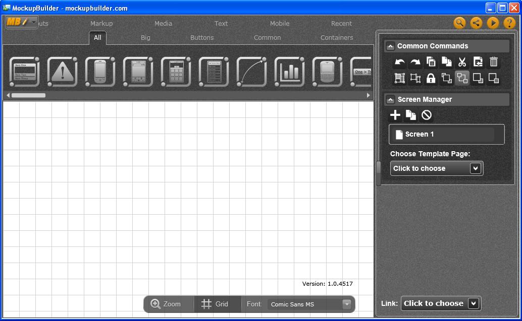 Mockup Builder default window