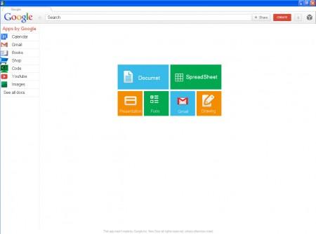 My Google Workspace default