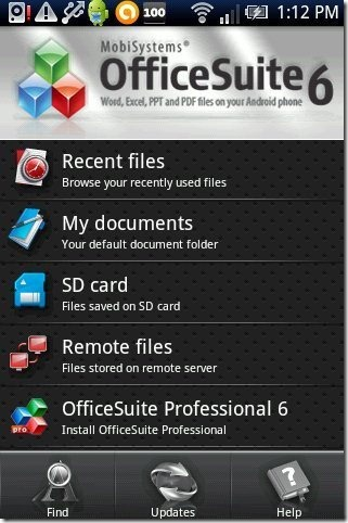 OfficeSuite Viewer 6