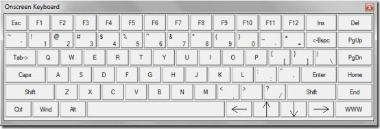 On Screen Keyboard 001