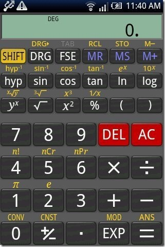 RealCalc Calculator