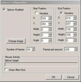 Splinter icon options