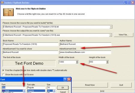 Toolwiz Flipbook book conversion