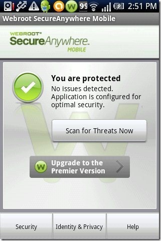 Webroot security