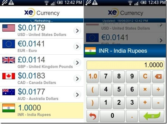 free currency converter app for android