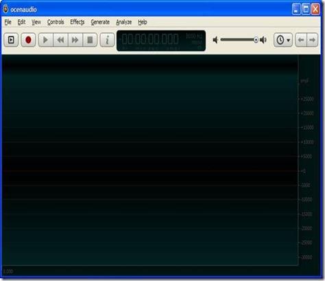 OcenAudio free audio editor
