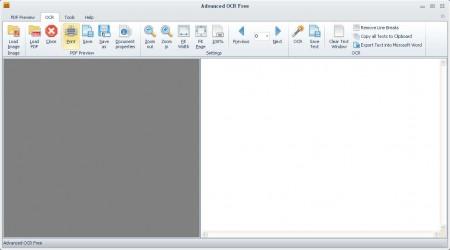 Advanced OCR Free default window