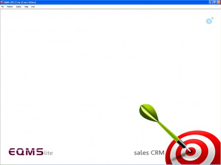 EQMS Lite default window