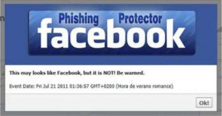 FB Phishing Protector phishing attack