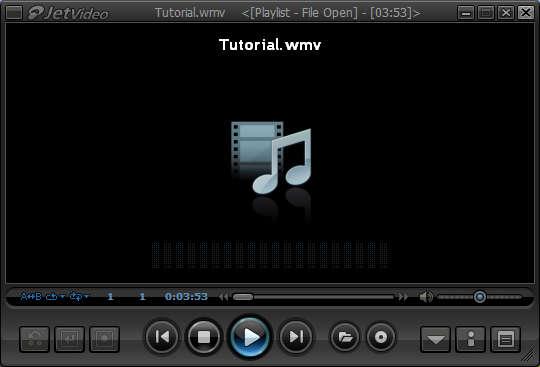 JetVideo default window