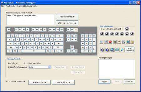 KeyTweak changing key step two