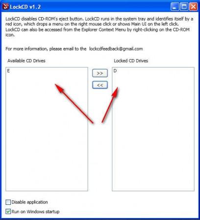 LockCD blocking apps