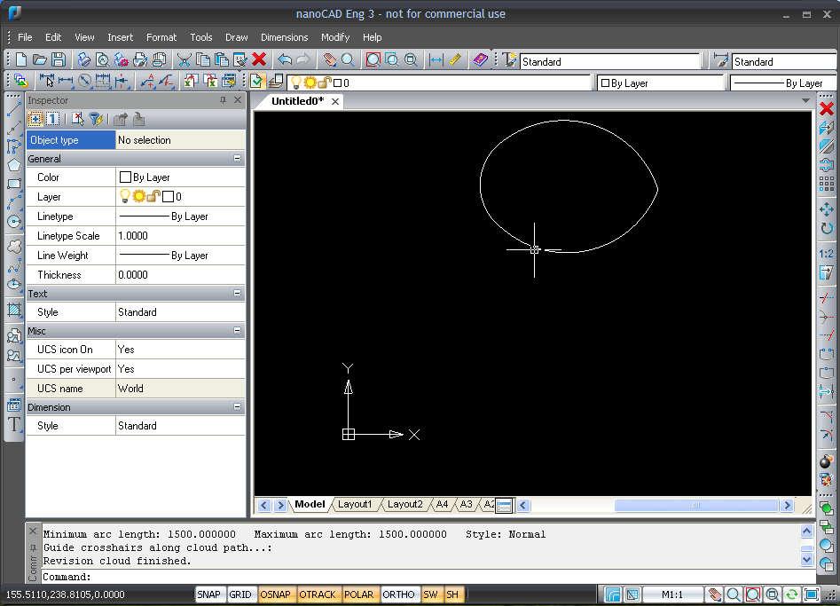 NanoCAD creating design