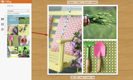 PicMonkey create collage