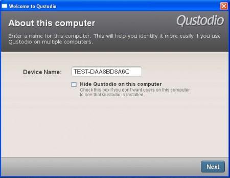 Qustodio hidden install