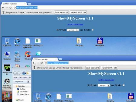 ShowMyScreen remote screen capture